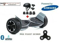 2017 HUMMER OFF ROAD SWEGWAY HOVERBOARD WITH APP CONTROL + Helmet & Pad