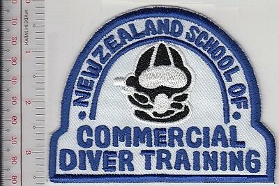 SCUBA Hard Hat Diving New Zealand School Commercial & Salvage Diver Training whi