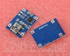 1PCS-5V-Mini-USB-1A-Lithium-Battery-Charging-Board-Charger-Module