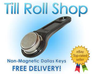 Black-iButton-Non-Magnetic-Fob-Dallas-Key-1-Wire-EPOS-Inc-Del