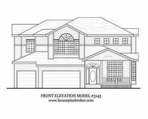 2 story house ranch style beach home cabin or rental plans for Beach house design pdf