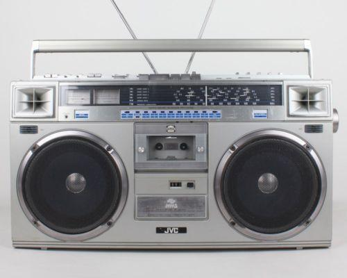 jvc ghetto blaster portable stereos boomboxes ebay. Black Bedroom Furniture Sets. Home Design Ideas
