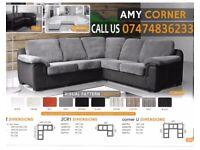 Amy 3+2 and corner sofa suite CU