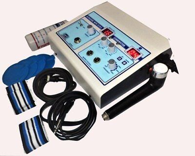 Combo Machine Ultrasound Therapy 1 Mhz And Tens 2 Channel Fast Shipping