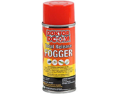 Doktor Doom Total Release Fogger 3 oz *2 Pack* - Insecticide Spider Mite -