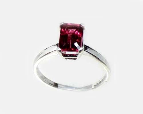 """19thC Antique 1¼ct Handcrafted Norway Rhodolite Bohemian Gypsy """"Cape Ruby"""" Ring"""