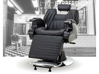 Heavy Duty solid Boxed Traditional Barber Chairs for sale
