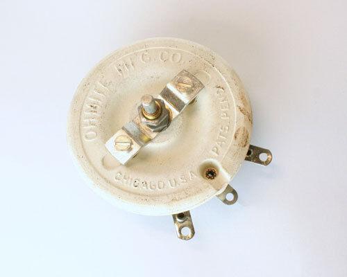 1x 1 Ohm 150W Rheostat Wirewound Resistor Potentiometer 150 Watt 1ohm