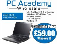 BEST PRICE USED ACER LAPTOP ON WINDOWS 10 READY TO SWITCH ON & USE