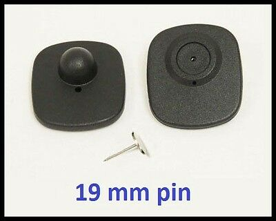 1000 Ps Rf 8.2 Mhz Hard Tag Checkpoint Compatible Anti Theft System 19mm Pin