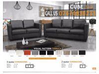Cube sofa 3+2 brand new ZlD