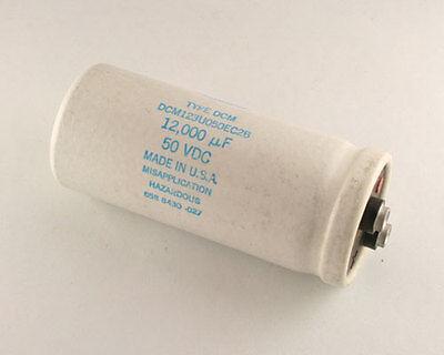 Lot Of 2 Sang 12000uf 50v Large Can Electrolytic Capacitor Dcm123u050ec2b