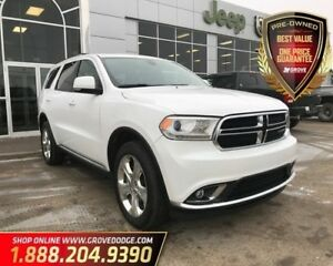 2015 Dodge Durango Limited| AWD| Sunroof| Leather| Remote Start