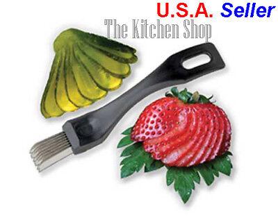 Pickle Slicer Garnishing Tool Deep Fried Pickles - Kitchen Tools & Gadgets