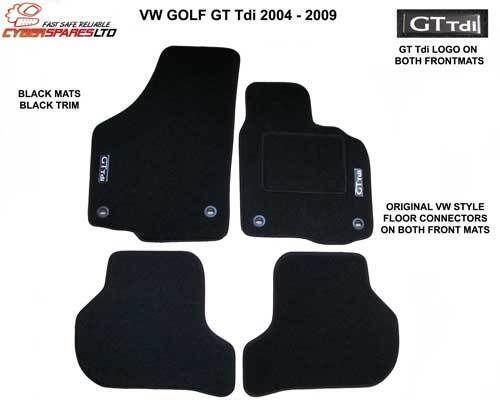 Vw Golf Gt Tdi Car Mats Ebay