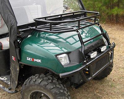 SEIZMIK UTV Hood Rack Brush - POLARIS RANGER 500 700  2002-2008 and Crew 2009 Polaris Ranger Hood Rack