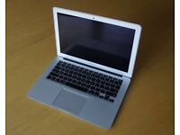 FAULTY MACBOOK AIR 1.6ghz i5 4gb, body is in excellent condition