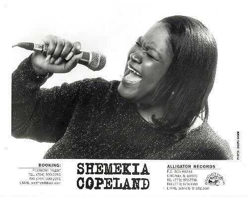 Shemekia Copeland press kit, CLASSIC official 8x10 GLOSSY photo! 1998, debut