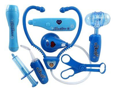 Liberty Imports Doctor Nurse Blue Medical Kit Playset for Kids - Pretend Play