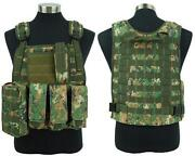 Tactical Vest Digital Woodland