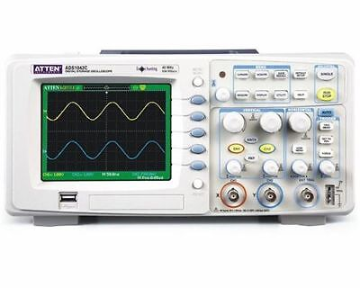 1pc New Atten Ads1042c Digital Oscilloscope 40mhz Bandwidth 2 Channels 500msa