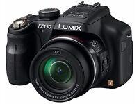 Panasonic Lumix DMC-FZ150 Compact Camera with Full HD Video Recording - Black 3.0 inch LCD
