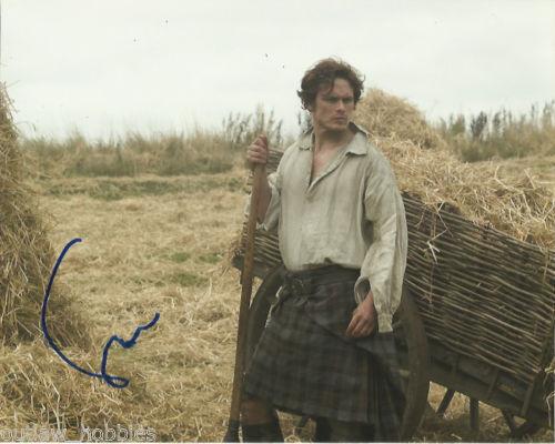 Sam Heughan Outlander Autographed Signed 8x10 Photo COA #A5