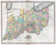 Antique Ohio Map