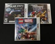 Nintendo DS Lego Game Lot