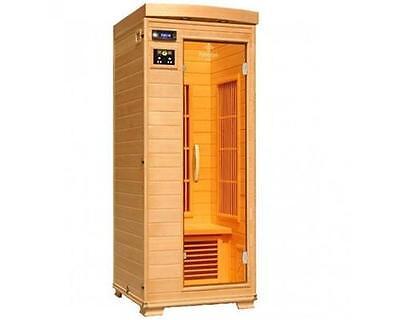 Infrarot Wärmekabine Infrarotsauna Sauna Infrarotkabine Fonteyn Ivar 1 Carbon