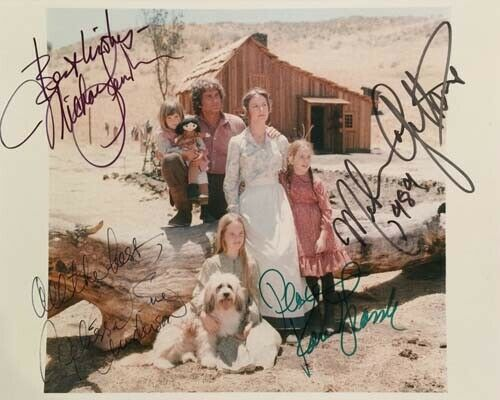 Little House On The Prairie Signed 8x10 Autographed Photo reprint