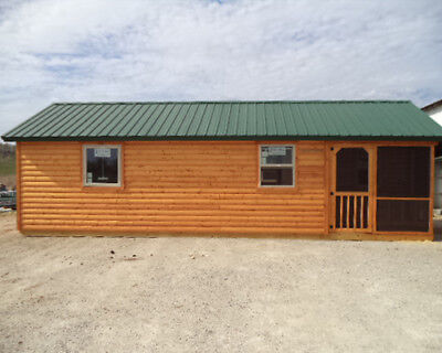 Amish Made Modular Cabins Deer Run Cabins - 14 X 28 Elk - Many Other Sizes