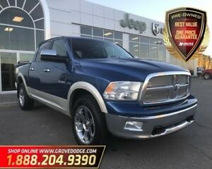2010 Dodge Ram 1500 Laramie| Leather| Sunroof| DVD| Remote Start