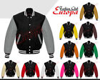 Varsity Black Varsity/Baseball Coats & Jackets for Men