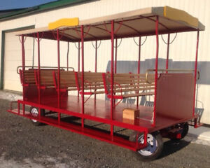TROLLEY (A fun way to ride at outdoor venues)