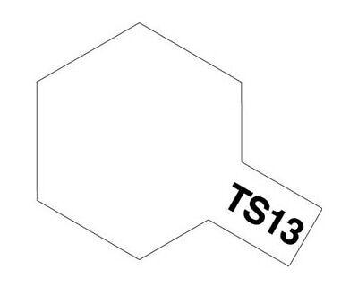 Tamiya 85013 Synthetic Spray TS13 Gloss Transparent 100ml Modélisme