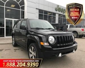 2016 Jeep Patriot High Altitude| Leather| Sunroof| Low KM| AUX