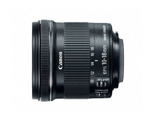 Brand New Canon EF-S 10-18mm f/4.5-5.6 IS STM Lens