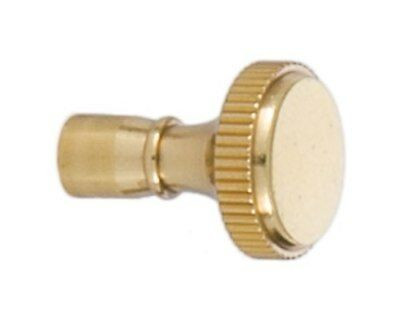 BRASS  ~ Lamp Socket ~ TURN KNOB SWITCH KEY ~ Replacement Part ~ #GB111