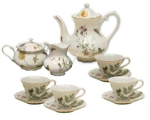 china tea set ebay. Black Bedroom Furniture Sets. Home Design Ideas