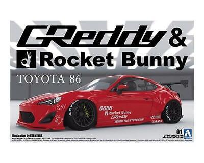 Aoshima 1/24 Toyota 86 GReddy & Rocket Bunny 05093