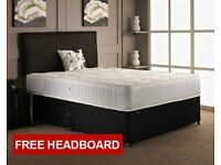 DIVAN BEDS WITH FREE DELIVERY!! UK BEDS & AFFORDABLE PRICES