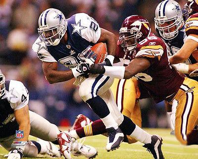 EMMITT SMITH Dallas Cowboys THROWBACK vs. Redskins Premium NFL POSTER Print - Redskin Vs Cowboys
