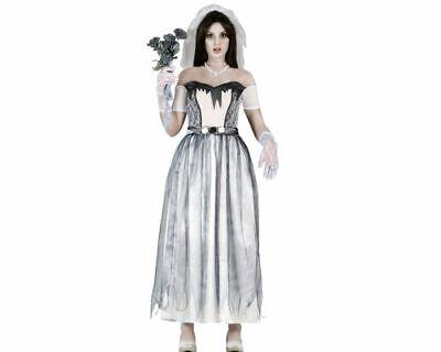 Geisterbraut Halloweenkostüm Geist Braut Damenkostüm