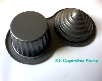 Riesen Cupcake XL Backform Muffinform Kuchenform Blechform Muffins Form