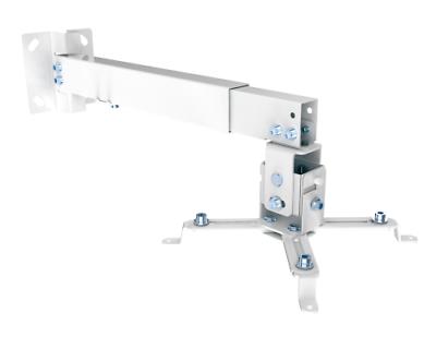 Universal Halterung für Beamer / Projektor – Wand / Decke – Abstand 350mm-650mm