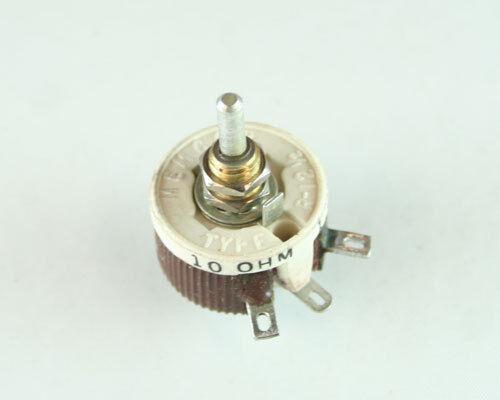 1x 10 Ohm 12.5W Rheostat Wirewound Resistor Potentiometer RES10R 12.5 Watt 10ohm