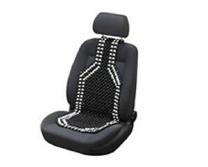 holzperlen sitzauflage sitzbez ge ebay. Black Bedroom Furniture Sets. Home Design Ideas