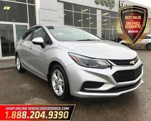 2016 Chevrolet Cruze LT| Cloth| Remote Start| Heated Seats| AUX