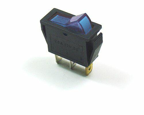 CYGUSA Illuminated 110VAC ON/Off Rocker Switch - Blue